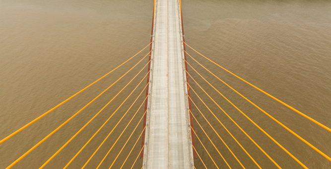 James John Audubon Bridge Visit